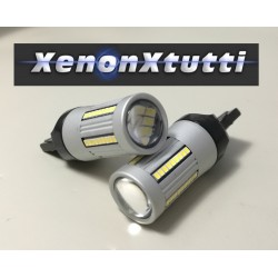 SUPER CANBUS LED T20 7440 BIANCO 66 LED 2016 1300lm