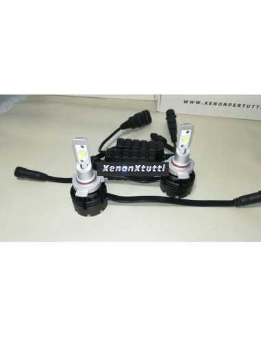 KIT FULL LED HIR2 9012 PROIETTORE LENTICOLARE XHP70 MONO LED