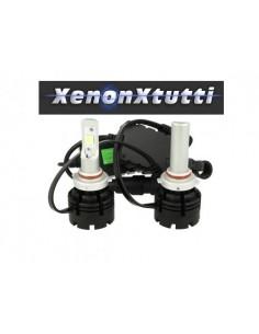 KIT LED HB3 9005 PROIETTORE LENTICOLARE XHP70 MONO LED