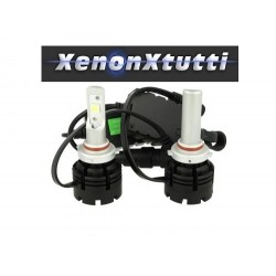 KIT FULL LED HB3 9005 PROIETTORE LENTICOLARE XHP70 MONO LED