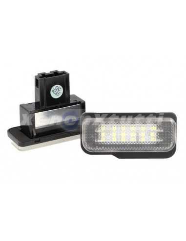 PLAFONIERA LUCE TARGA LED MERCEDES W203 5D、W211、W219
