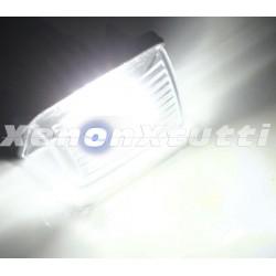 PLAFONIERA LUCE TARGA LED PEUGEOT 206 207 306 307 308