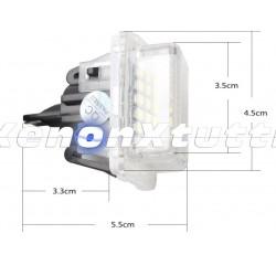 PLAFONIERA LUCE TARGA LED MERCEDES W204 W221 C207 W212 C216