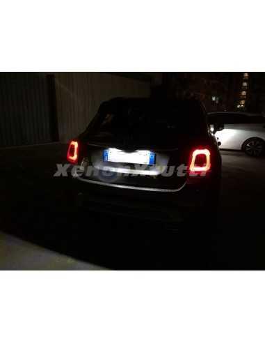 LED FIAT 500X LUCI placca targa plafoniera