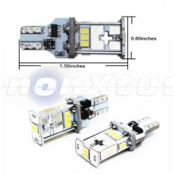 T15  W16W 1000LM LED 16W LAMPADA 10 smd 3020
