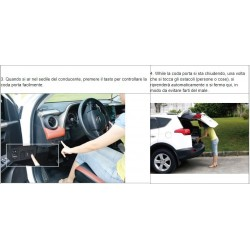 PORTELLONE ELETTRICO CON TELECOMANDO TOYOTA RAV4 2013-2016 TAIL GATE