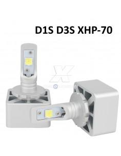KIT FULL LED D1S D3S 6000K XENON 12000LM
