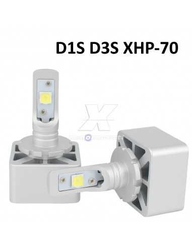 KIT FULL LED D1S D3S 6000K XENON 12000LM