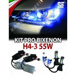 KIT BIXENON SLUX CANBUS H4-3 AUTO 55W AC
