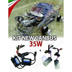 KIT XENON NEW CANBUS PROFESSIONALE 35W AC