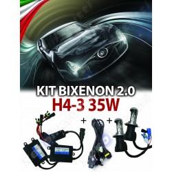 KIT BIXENON NEW CANBUS PROFESSIONALE 2.0 H4-3