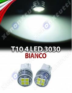 COPPIA LED T10 4 LED 3030