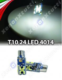 COPPIA LED T10 CANBUS 24