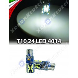 COPPIA LED T10 CANBUS 24