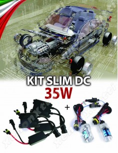 KIT XENON SLIM ECO compatibile CANBUS AUTO 35W DC