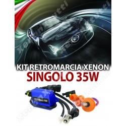 KIT XENON SINGOLO RETROMARCIA POSIZIONE BA15S T10 T15 T20 12V 15W