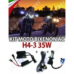 KIT BIXENON SLIM H4-3 MOTO 35W AC