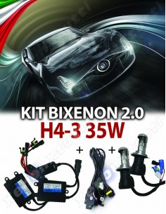 KIT BIXENON NORMAL CANBUS 2.0 H4-3