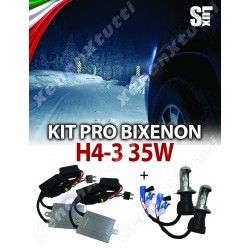 KIT BIXENON SLUX CANBUS H4-3 AUTO 35W AC