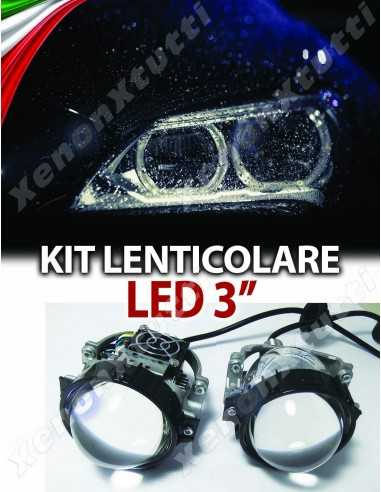 KIT FARI BI-LED LENTICOLARE H4 H1 H7