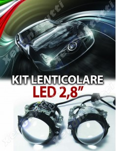 "KIT LENTICOLARE 2,8"" BI-LED FULL LED SUPERLUMINOSO"