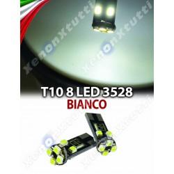 Led T10 8 LED SMD 3528