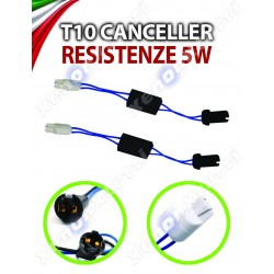 COPPIA WARNING CANCELLER T10 SPECIFICI