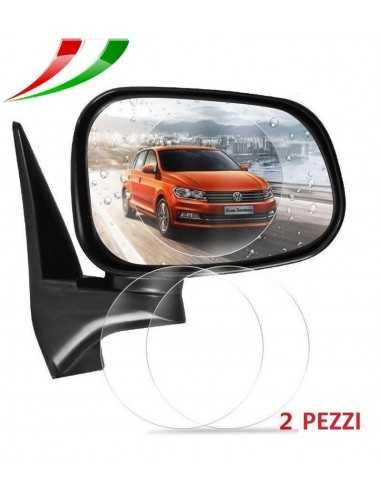 Specchio retrovisore pellicola protettiva 80mm auto idrorepellente for Pellicola a specchio per vetri