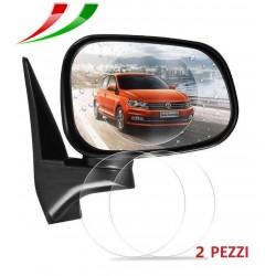 Specchio retrovisore pellicola protettiva 80mm auto idrorepellente - Pellicola specchio vetri ...