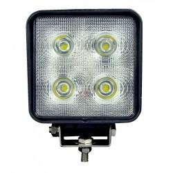 LED WORKING LIGHT 40W 9/32V PROFONDITA O DIFFUSO