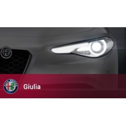 KIT FULL LED DIURNA ABBAGLIANTE GIULIA 2016 SPECIFICO ALFA ROMEO
