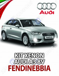 KIT XENON FENDINEBBIA AUDI A3 8V SPORTBACK SPECIFICO