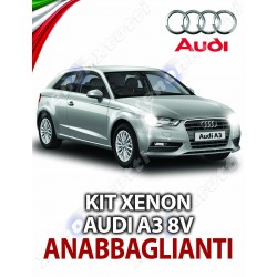 KIT XENON ANABBAGLIANTI AUDI A3 8V SPORTBACK SPECIFICO