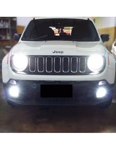 Kit Led Anabbagliante Abbagliante H4 Jeep Renegade Lampada Bulbo