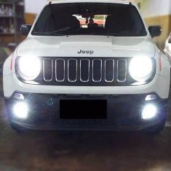 KIT FULL LED ANABBAGLIANTE ABBAGLIANTE H4 JEEP RENEGADE