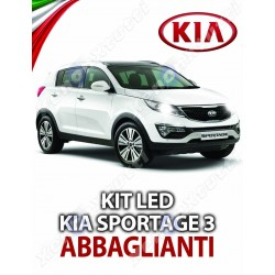 KIT FULL LED ABBAGLIANTE KIA SPORTAGE 3 SERIE