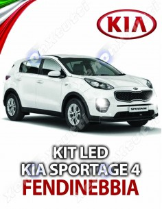 KIT LED HB4 KIA SPORTAGE 4 QL FENDINEBBIA IV 2016 IN POI