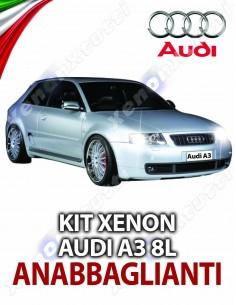 KIT XENON ANABBAGLIANTI AUDI A3 8L SPORTBACK SPECIFICO