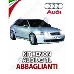 KIT XENON ABBAGLIANTI AUDI A3 8L