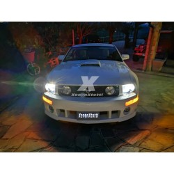KIT FULL LED ford mustang ANABBAGLIANTE ABBAGLIANTE D1S