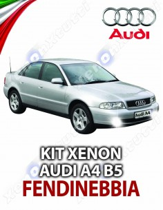 KIT XENON FENDINEBBIA AUDI A4 B5 SPECIFICO