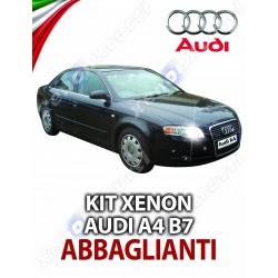 KIT XENON ABBAGLIANTI AUDI A4 B7 SPECIFICO