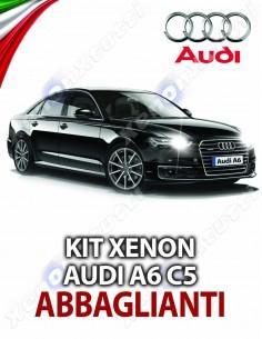KIT XENON ABBAGLIANTI AUDI A6 C6 SPECIFICO