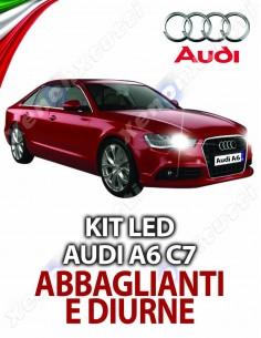 KIT LED ABBAGLIANTI AUDI A6 C7 SPECIFICO
