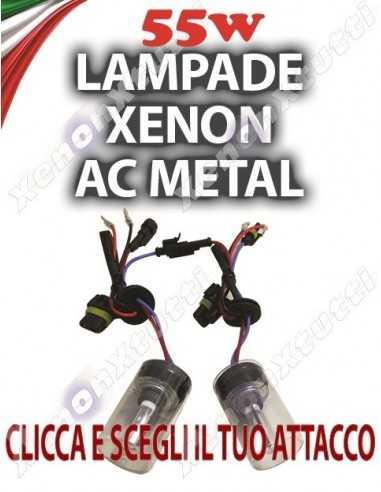 COPPIA DI LAMPADE 55 W AC