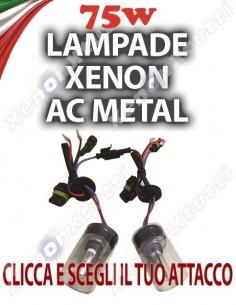 COPPIA DI LAMPADE XENON 75W AC