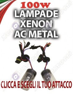 COPPIA DI LAMPADE 100 W AC H7 H1