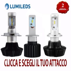 KIT FULL LED PHILIPS LUMILEDS H7 H1 H15 H11 H3 H4 HB4 HB3 8000 lumen