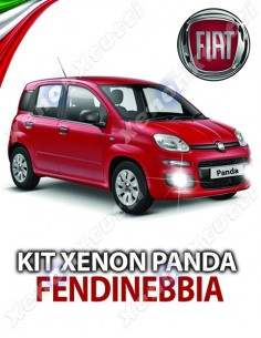 KIT XENON FENDINEBBIA FIAT PANDA SPECIFICO
