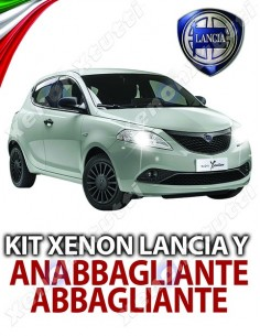 KIT BIXENON ANABBAGLIANTI ABBAGLIANTI LANCIA Y YPSILON